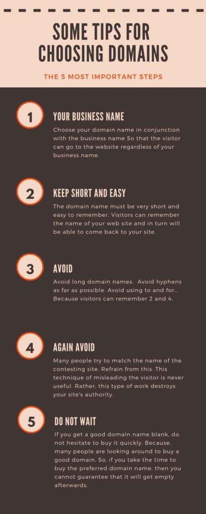 best tips for domain choosing