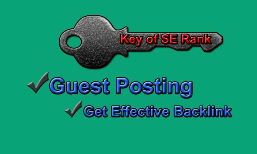 Backlinks strategy- guest-posting