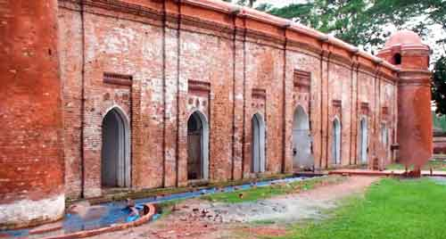 sixty dome mosque khulna