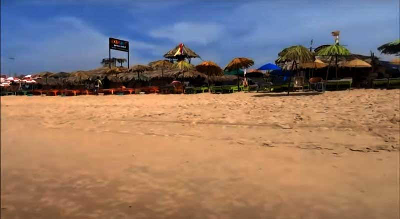 Goa-Beach-in-India- Best Asian beaches
