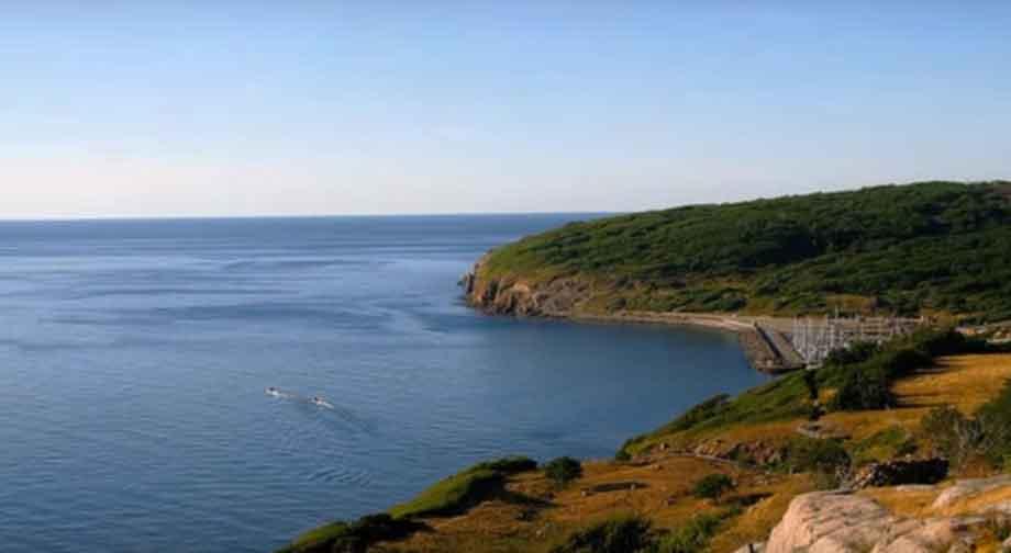 Denmark-Bornholm island