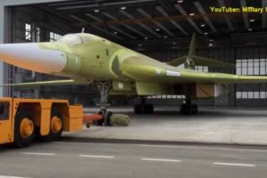 Surprise in Russian-Supersonic-Tu-160M2