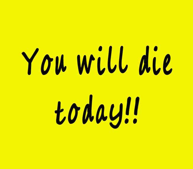 you-will-die