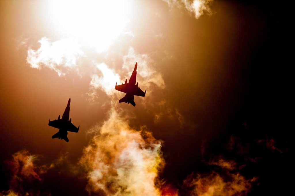 Chinese-warplanes