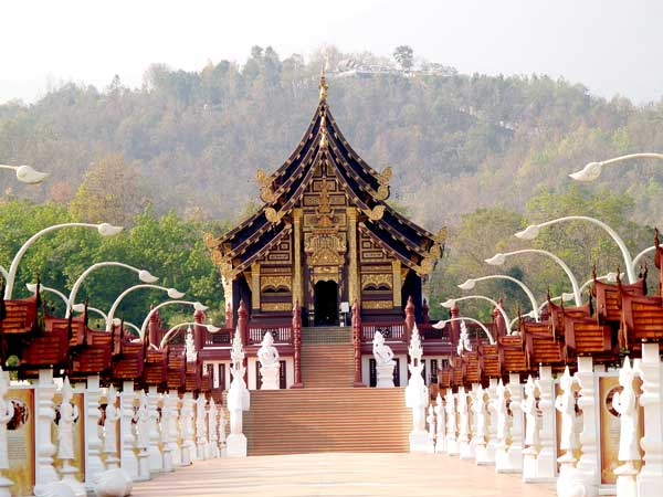 Top travel places- Chiangmai-Royal-Pavilion-Chiangmai-Thailand
