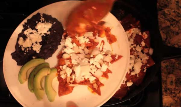Chilaquiles, Mexico