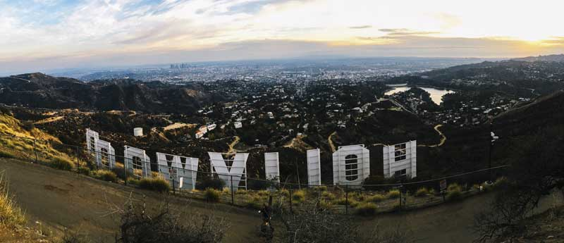 Hollywood-Sign-in-California