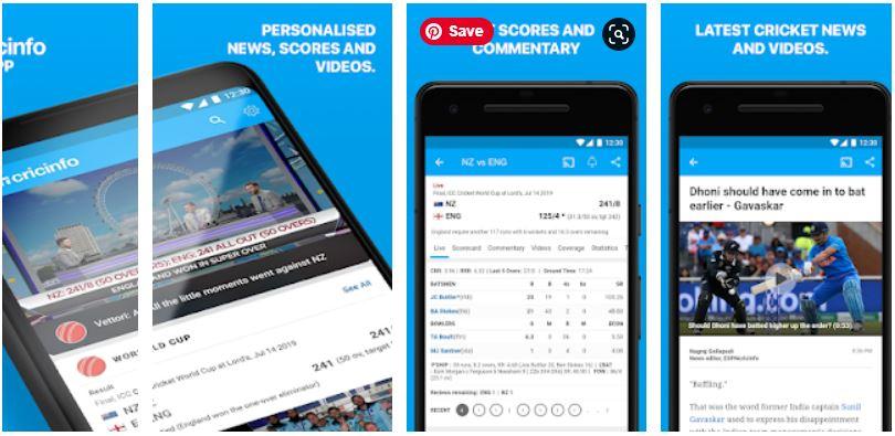 Best Cricket Score Apps