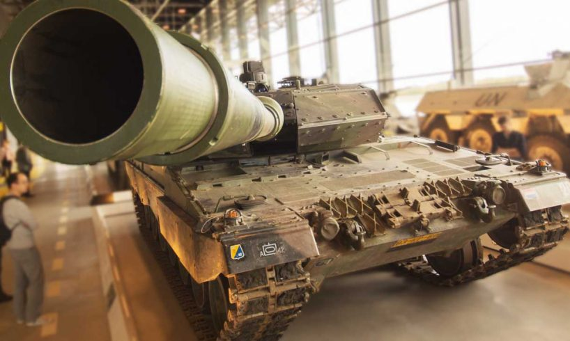Latest-war-weapons-Trade-Green Battle Tank