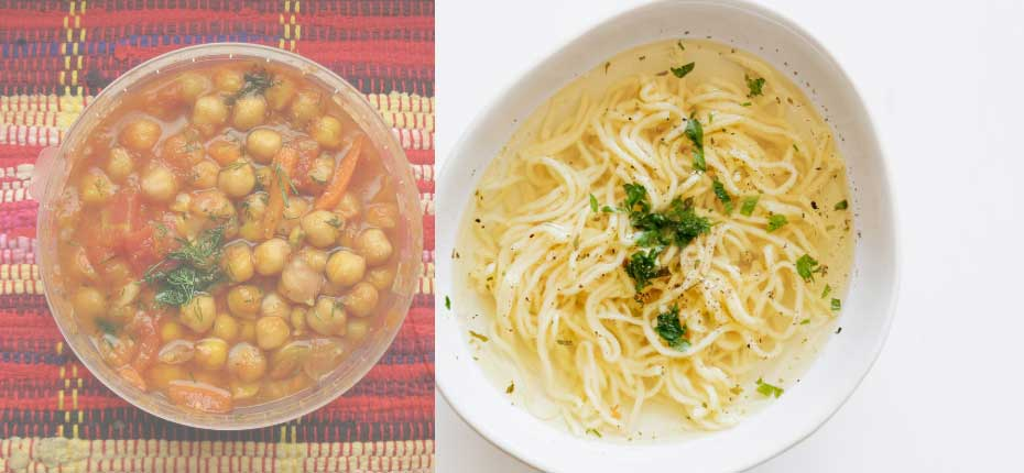 Chickpea-with-noodles-recipe